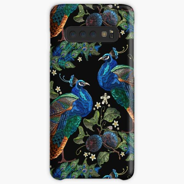 Embroidery peacocks Samsung Galaxy Snap Case