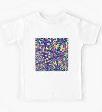 The flowers of the starry night sky Kids T-Shirt