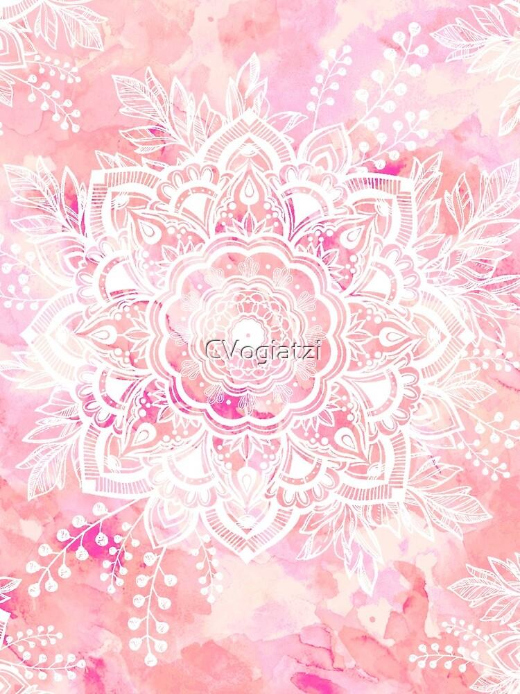 Queen Starring of Mandalas Pink by CVogiatzi