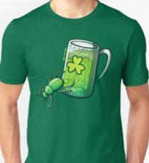 Saint Patrick's Day Beetle Slim Fit T-Shirt