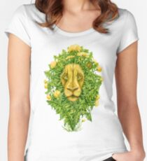 The Dandy Lion Women's Fitted Scoop T-Shirt