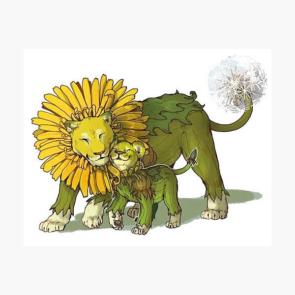 The Dandy Lion Photographic Print
