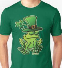 Saint Patrick's Day Frog Unisex T-Shirt