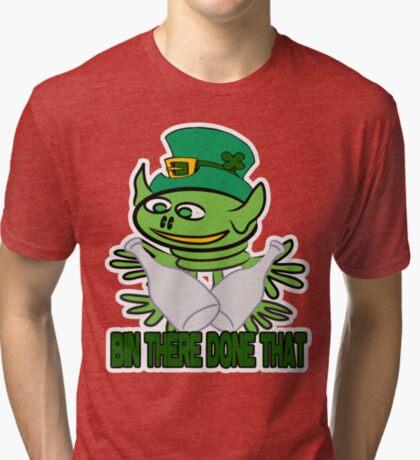 Funny St. Patrick's t-shirt Tri-blend T-Shirt