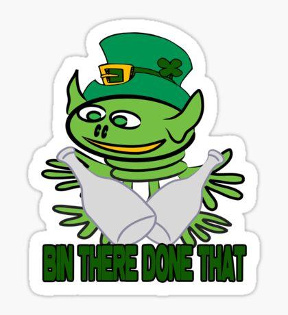 Funny St. Patrick's t-shirt Sticker