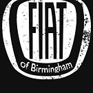 Fiat of Birmingham - white logo by Fobrocks