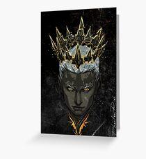 broken crown Greeting Card