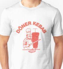 Döner Kebab - Logo Slim Fit T-Shirt