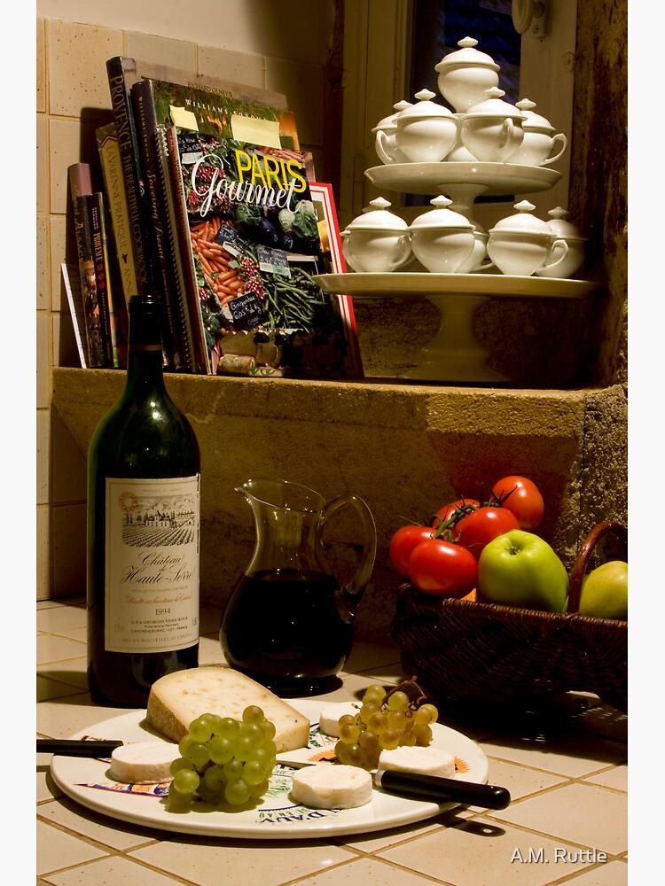 Un verre de vin rouge?  A glass of red wine? by annruttle