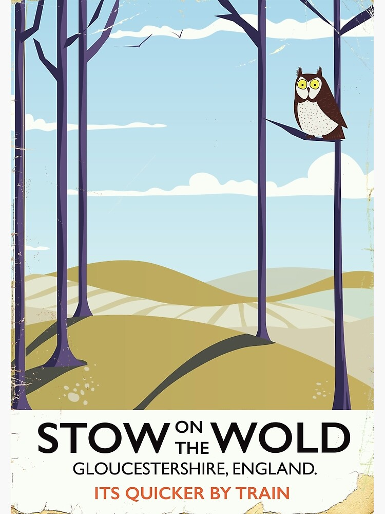 stow on the wold by vectorwebstore