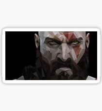 Kratos - God of war Sticker