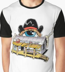 One-eyed Western Graphic T-Shirt