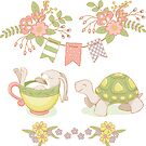 «Hare and Tortoise -pattern-» de miavaldez