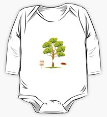 Treejection - Funny Disc Golf Quotes Gift Baby Body Langarm