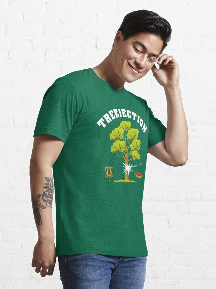 Alternate view of Treejection - Funny Disc Golf Quotes Gift Essential T-Shirt