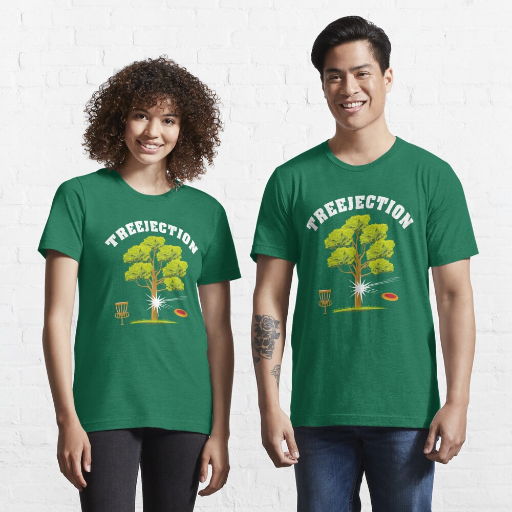 Treejection - Funny Disc Golf Quotes Gift Essential T-Shirt