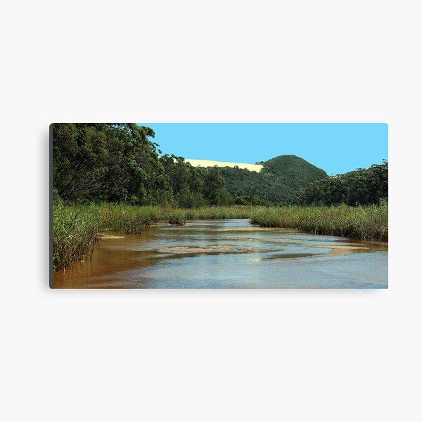 Upstream Thurra Canvas Print