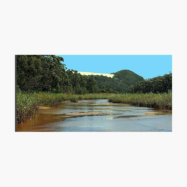 Upstream Thurra Photographic Print