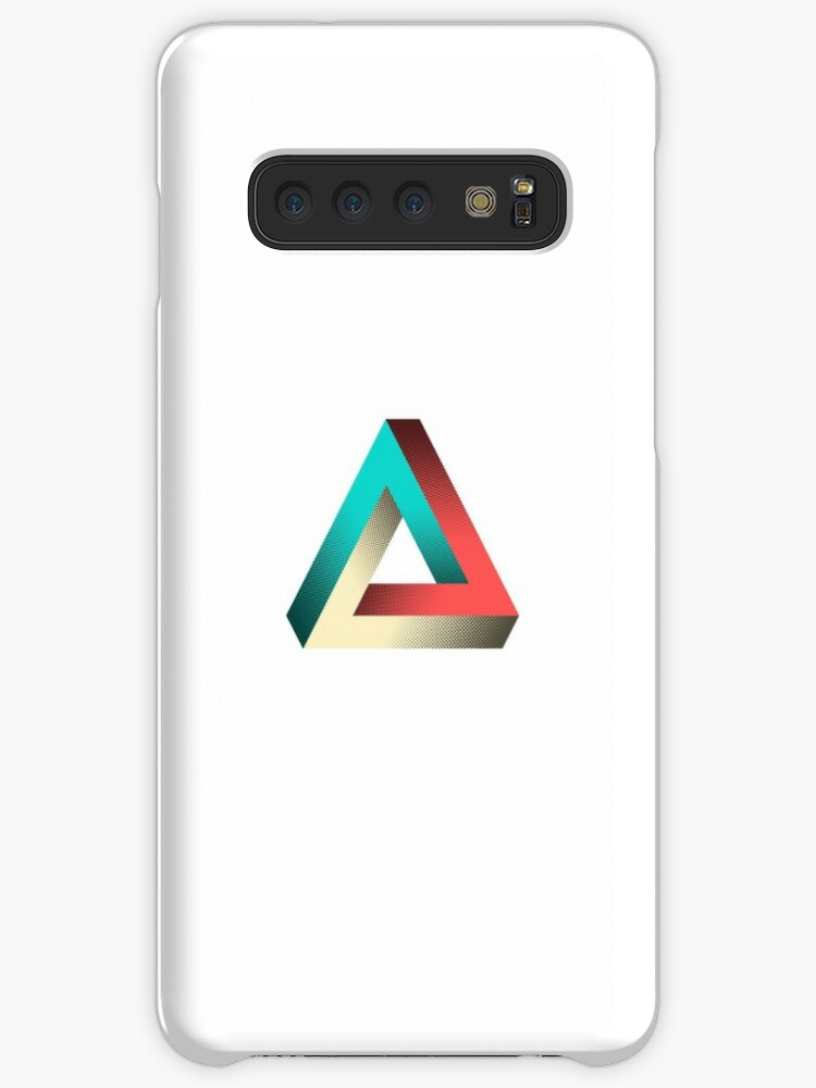 'Impossible Penrose Triangle Illusion Design' Case/Skin for Samsung Galaxy  by SpikyHarold