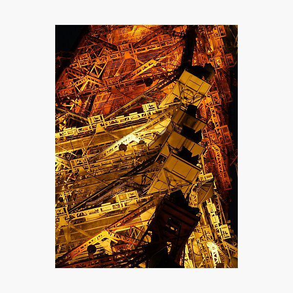 Tokyo Tower by night (3 of 3) Photographic Print