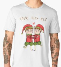 Love Thy Elf Men's Premium T-Shirt