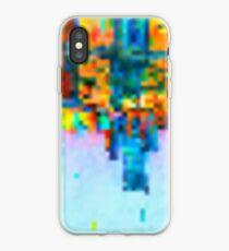 Colorful Pixel Art Print iPhone Case