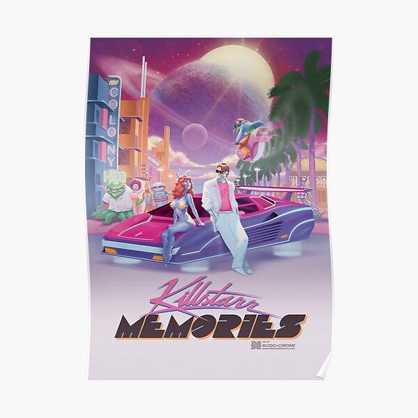 Killstarr Memories Tee Poster