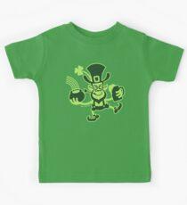 Saint Patrick's Leprechaun Kids Tee