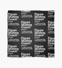 Figure Skating Coach Funny Definition Trainer Gift Design Scarf