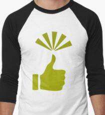 Green Thumb Men's Baseball ¾ T-Shirt