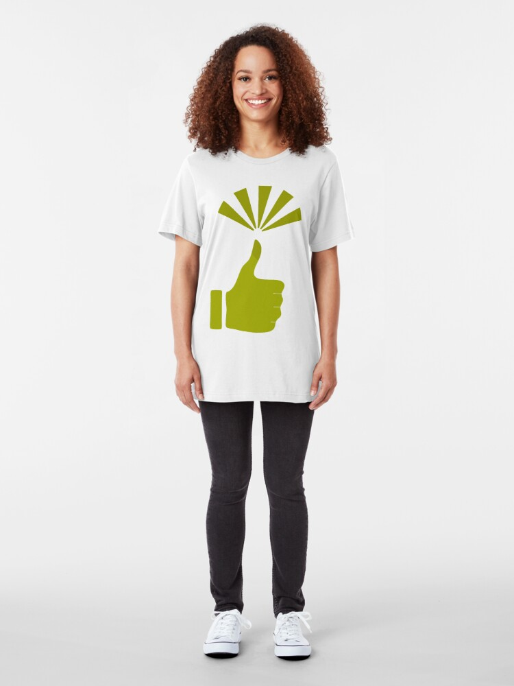Alternate view of Green Thumb Slim Fit T-Shirt