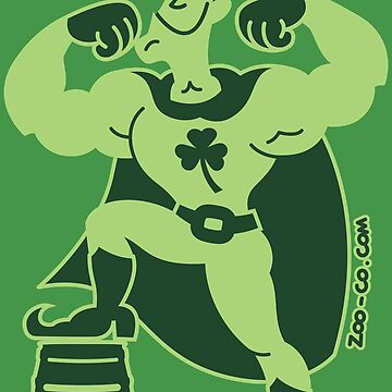 Saint Patrick's Day Superhero by Zoo-co