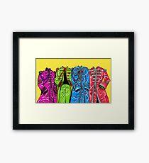 Sgt Pepper Suit Framed Print