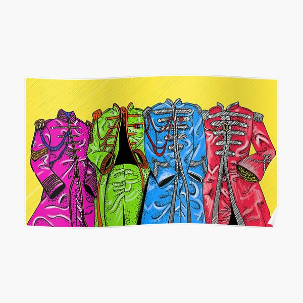 Sgt Pepper Suit Poster