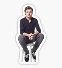 nick on a stool Sticker