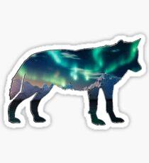 Nordlichter Sticker