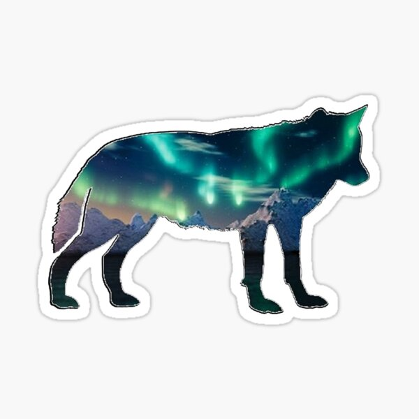 Northern Lights Sticker