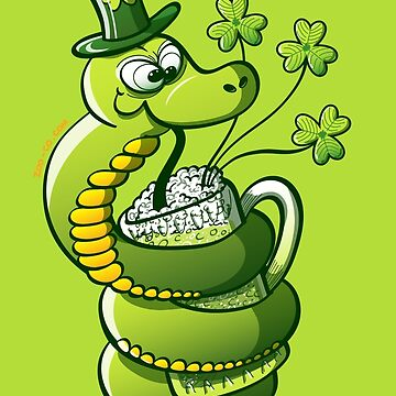 Saint Patrick's Day Snake by Zoo-co