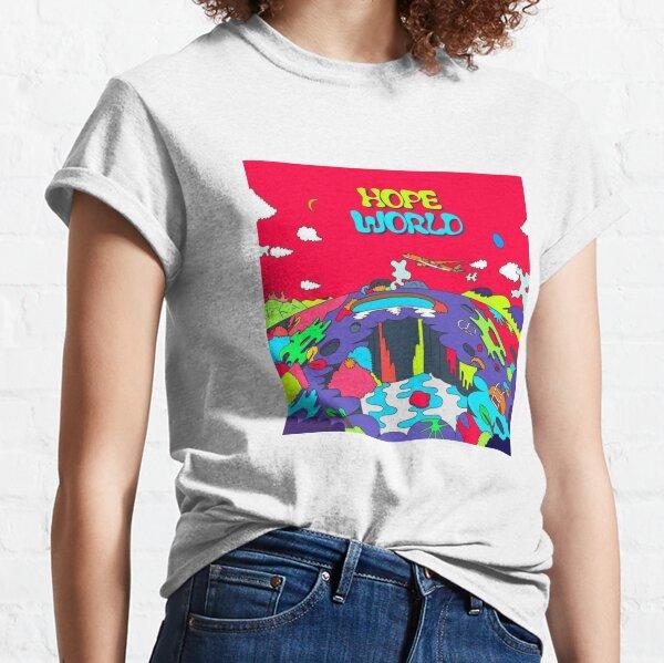 Mundo de la esperanza Camiseta clásica