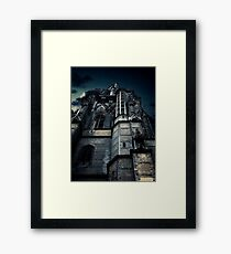 Gothic view Framed Print