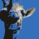 Colorful Giraffe by Leighanna Murray