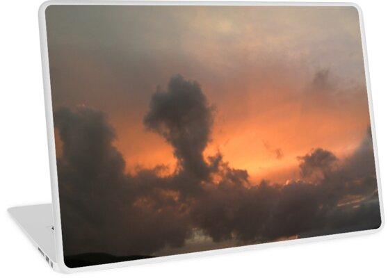 Shieldaig Sunset 2 by Elizabeth Austin-Craig