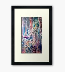 Divination towers in dream state Framed Print
