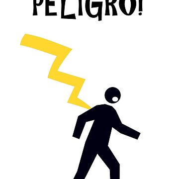 electricity danger. Peligro - Spanish by stuwdamdorp