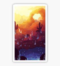 Sunset Arch Sticker