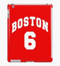 Jack Parker - BU #6 - red jersey iPad Case/Skin