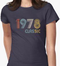 Camiseta entallada para mujer 1978 clasico 41 años cumpleaño