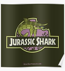 Jurassic Shark - SNIPPET the Sarcoprion Poster