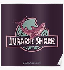Jurassic Shark - BRUNCH, the Cladoselache Shark Poster