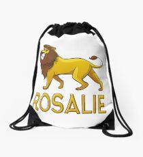 Rosalie Lion Drawstring Bags Drawstring Bag